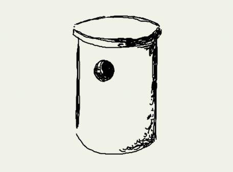 Zeichnung Waldkauz- und Schellentenkasten – Artikel 510