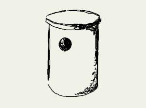Zeichnung Rauhfußkauz-, Hohltauben- und Dohlenkasten – Artikel 512