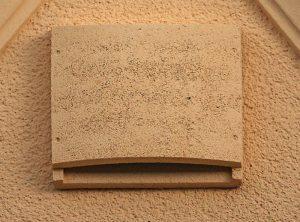 Fledermaus-Fassadenflachkasten