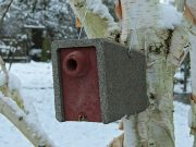 Mardersicherer Höhlenbrüterkasten, Flugloch 32 mm – Artikel 313