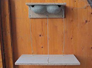 Mehlschwalbennest mit einhängbarem Kotbrett (Paar) – Artikel 412