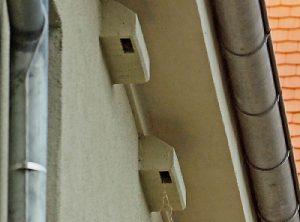 Mauerseglernistkasten mit Montagewinkel – Artikel 418