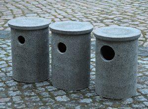 Steinkauz- und Wiedehopfkasten